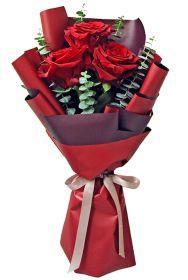 Red Ecuadorian Roses Bouquet