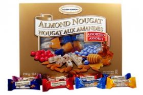 Almond Nougat Assorted 250g
