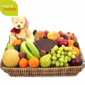 Premium Celebration Fruit Basket
