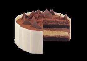Devil's Food Cheesecake
