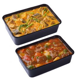 Chicken and Beef Party Meals