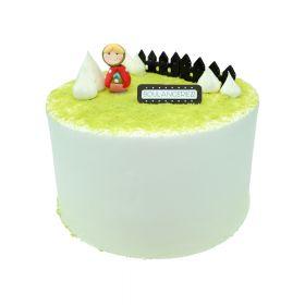 Matcha Strawberry Cake