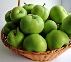 Green Apple Basket