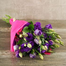 Lisianthus Bouquet Paper Rose