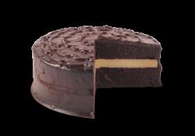 Mom's Chocoholic Fudge Cake