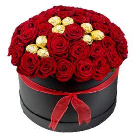 Roses and Ferrero in Black Box