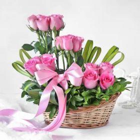Basket of  Imported Rose