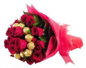 Red Rose & Ferrero Rocher