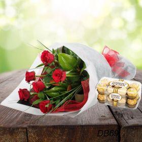 Rose w/ Chocolates