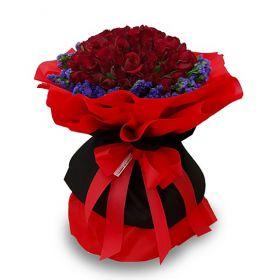 50 Red China Rose
