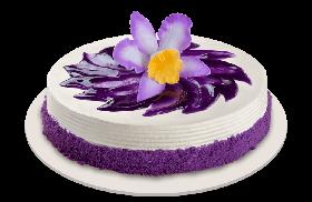 Ube Bloom Cake