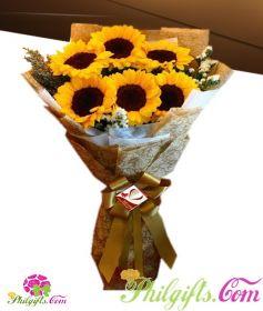 Stunning Sunflower Bouquet