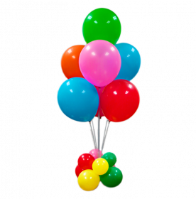 Balloon Set with 1 Stand