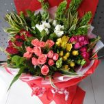Multi Color Rose Bouquet