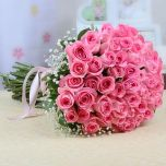 50 Pink Bangkok Roses