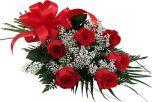 Half Dozen Red  Rose Bouquet