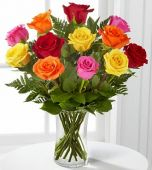 1 Dozen Mixed Rose Send to Philippines