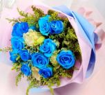Mysterious Blue Rose